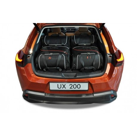 Tailored suitcase kit for Lexus UX