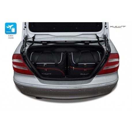Tailored suitcase kit for Mercedes CLK A209 Cabriolet (2003 - 2010)
