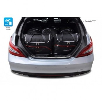 Tailored suitcase kit for Mercedes CLS X218 touring (2012 - 2014)