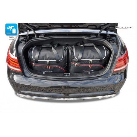 Tailored suitcase kit for Mercedes E-Class A207 Restyling Cabriolet (2013 - 2017)