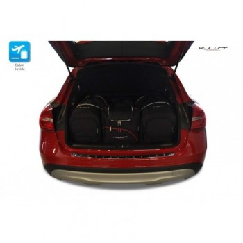 Tailored suitcase kit for Mercedes GLA X156 (2013 - 2017)