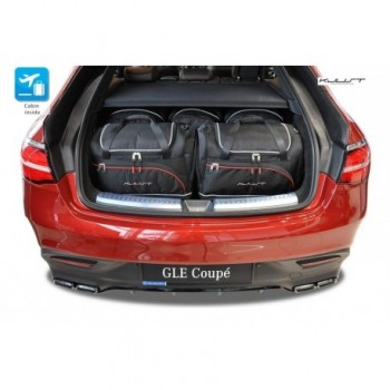 Tailored suitcase kit for Mercedes GLE C292 Coupé (2015 - Current)
