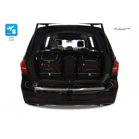 Tailored suitcase kit for Mercedes GLS X166 5 seats (2016 - Current)