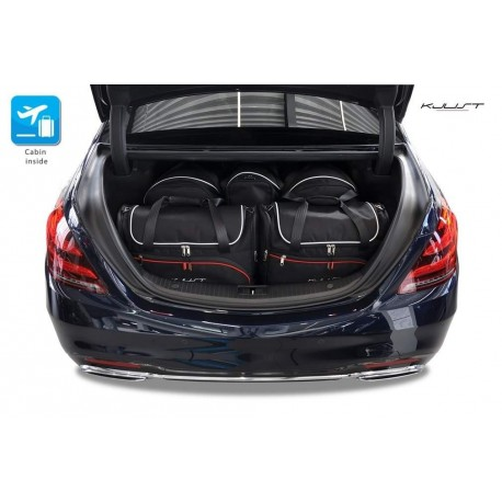 Tailored suitcase kit for Mercedes S-Class W222 (2013 - Current)