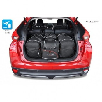 Tailored suitcase kit for Mitsubishi Eclipse Cross