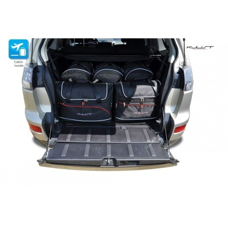 Tailored suitcase kit for Mitsubishi Outlander 5 seats (2007 - 2012)