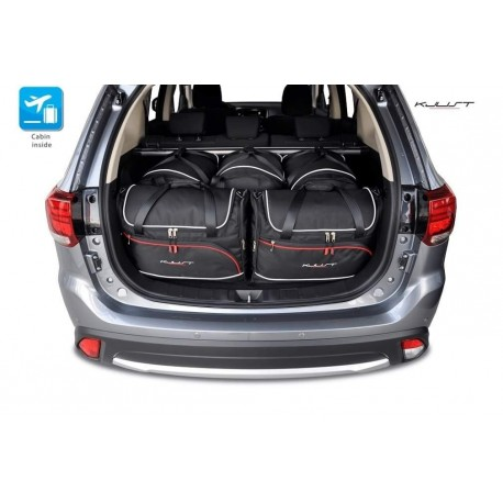 Tailored suitcase kit for Mitsubishi Outlander (2012 - 2018)