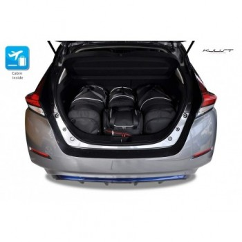 Tailored suitcase kit for Nissan Leaf (2017 - Current)