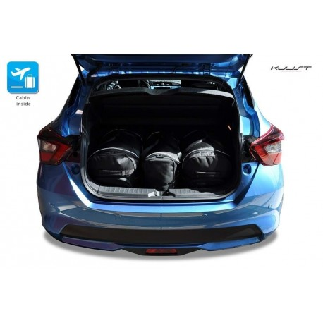 Tailored suitcase kit for Nissan Micra (2017 - Current)