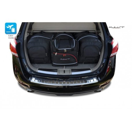 Tailored suitcase kit for Nissan Murano