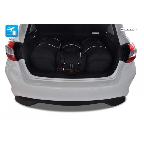 Tailored suitcase kit for Nissan Pulsar