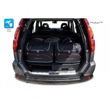 Tailored suitcase kit for Nissan X-Trail (2007 - 2014)