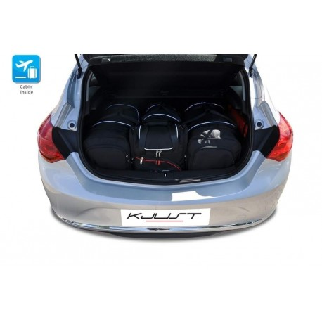 Tailored suitcase kit for Opel Astra J 3 o 5 doors (2009 - 2015)