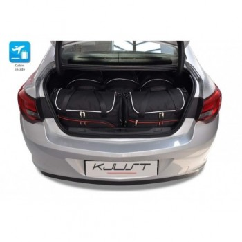 Tailored suitcase kit for Opel Astra J, Sedan (2010 - 2016)