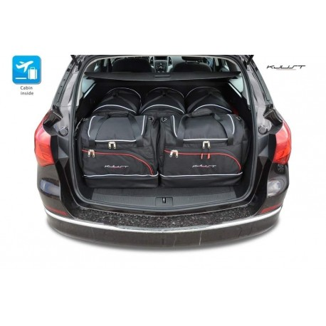 Tailored suitcase kit for Opel Astra J Sports Tourer (2010 - 2016)