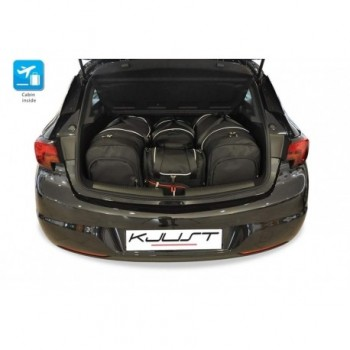 Tailored suitcase kit for Opel Astra K 3 o 5 doors (2015 - Current)