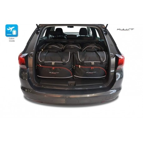 Tailored suitcase kit for Opel Astra K Sports Tourer (2015 - Current)