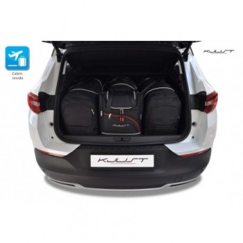 Tailored suitcase kit for Opel Grandland X