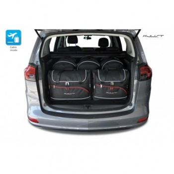 Tailored suitcase kit for Opel Zafira C (2012 - 2018)