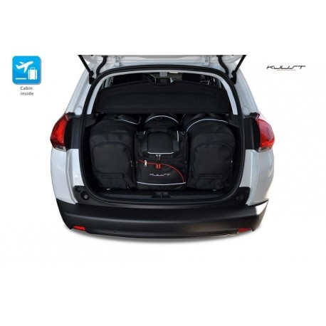 Tailored suitcase kit for Peugeot 2008 (2013 - 2016)