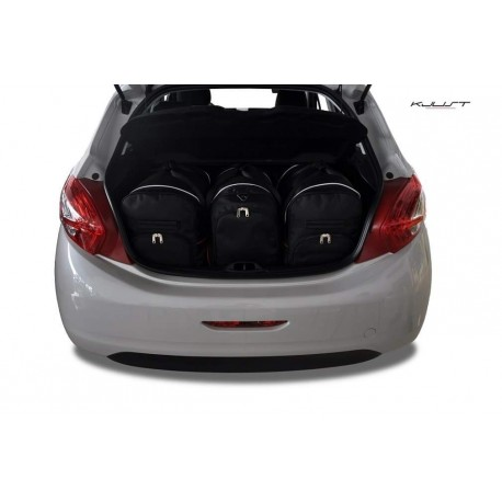 Tailored suitcase kit for Peugeot 208
