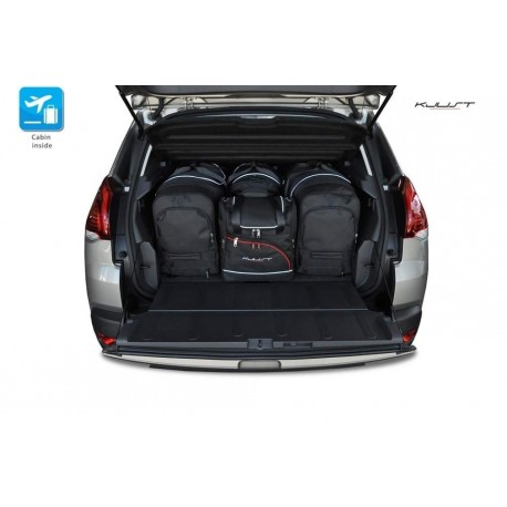 Tailored suitcase kit for Peugeot 3008 (2009 - 2016)