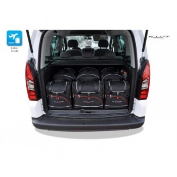 Tailored suitcase kit for Peugeot Partner (2008 - 2018)