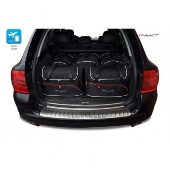 Tailored suitcase kit for Porsche Cayenne 9PA Restyling (2007 - 2010)