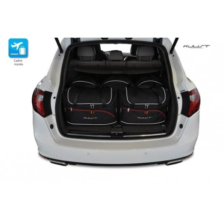 Tailored suitcase kit for Porsche Cayenne 92A Restyling (2014 - Current)