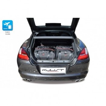 Tailored suitcase kit for Porsche Panamera 970 (2009 - 2013)