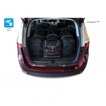 Tailored suitcase kit for Renault Grand Scenic (2009-2016)