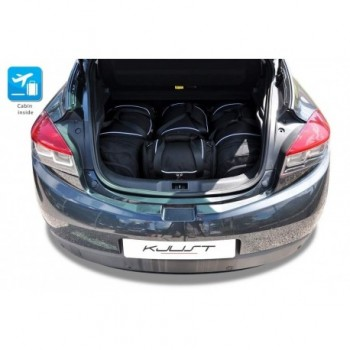 Tailored suitcase kit for Renault Megane 3 o 5 doors (2009 - 2016)