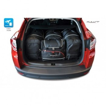 Tailored suitcase kit for Renault Megane touring (2009 - 2016)