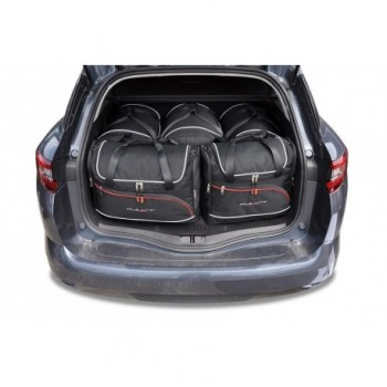 Tailored suitcase kit for Renault Megane touring (2016 - Current)