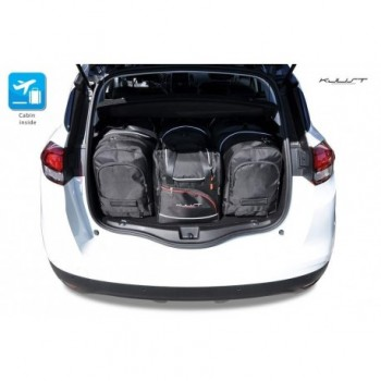 Tailored suitcase kit for Renault Scenic (2016 - Current)