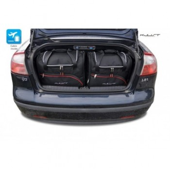 Tailored suitcase kit for Saab 9-3 Cabriolet (2003 - 2007)