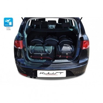 Tailored suitcase kit for Seat Altea (2004 - 2009)