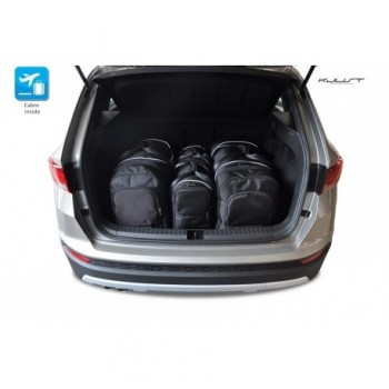 Tailored suitcase kit for Seat Ateca