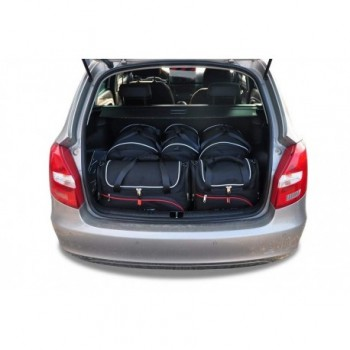 Tailored suitcase kit for Skoda Fabia Combi (2008 - 2015)