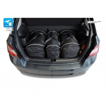 Tailored suitcase kit for Skoda Fabia Hatchback (2015 - Current)