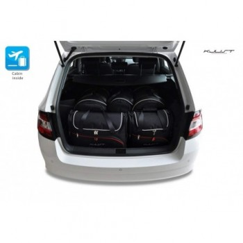 Tailored suitcase kit for Skoda Fabia Combi (2015 - Current)