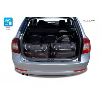 Tailored suitcase kit for Skoda Octavia Combi (2004 - 2008)