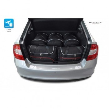 Tailored suitcase kit for Skoda Rapid