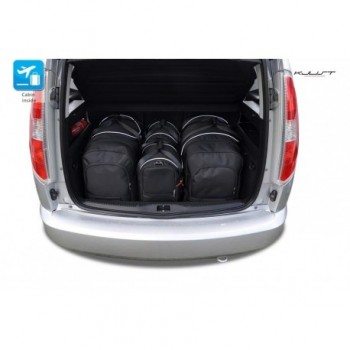 Tailored suitcase kit for Skoda Roomster
