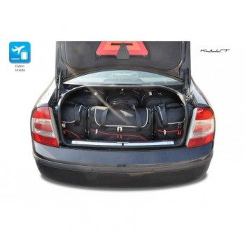 Tailored suitcase kit for Skoda Superb (2002 - 2008)