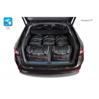 Tailored suitcase kit for Skoda Superb Combi (2015 - Current)