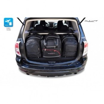 Tailored suitcase kit for Subaru Forester (2008 - 2013)
