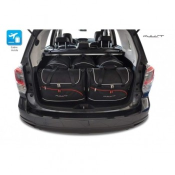 Tailored suitcase kit for Subaru Forester (2013 - 2016)