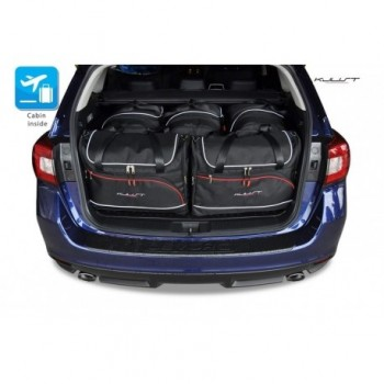 Tailored suitcase kit for Subaru Levorg