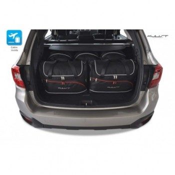 Tailored suitcase kit for Subaru Outback (2015 - Current)